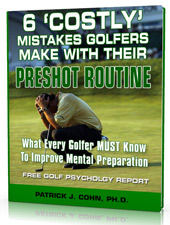 Golf Psychology Report on Preshot Routines