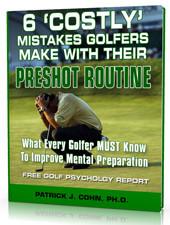 golf psychology report